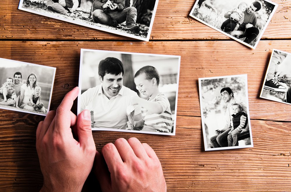 Sons honor father's memory with photos