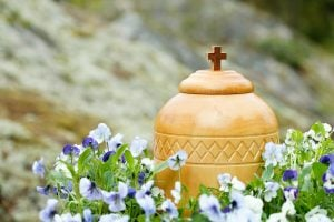 Urn with Ashes